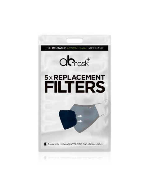 AB Reusable Face Mask Replacement Filters (5pcs) RRP £4.99