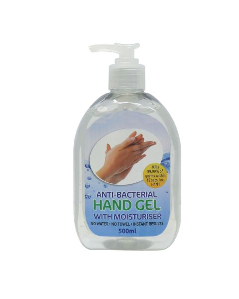 Anti-Bacterial Hand Gel (500ml)
