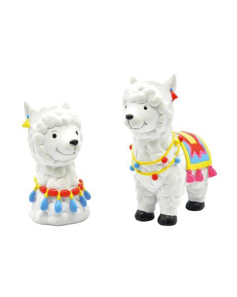 Optipets Alpaca Set of 6 (3 Of Each)