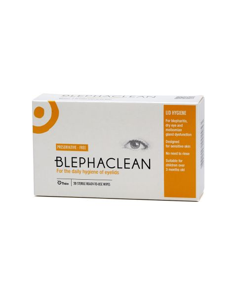 Blephaclean Eye Lid Cleansing Wipes (20 Wipes) RRP £8.99