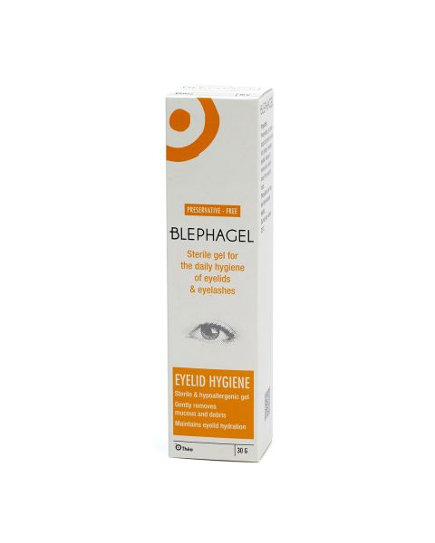 Blephagel Eye Lid Cleansing Lotion (30g Tube) RRP £11.49
