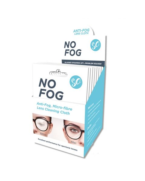 SO No Fog Cloth POS including 25 units  RRP £6.99 per cloth