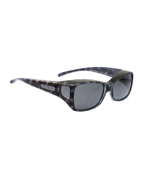 JP Fitovers Dahlia Black Cheetah/Grey Lenses Medium
