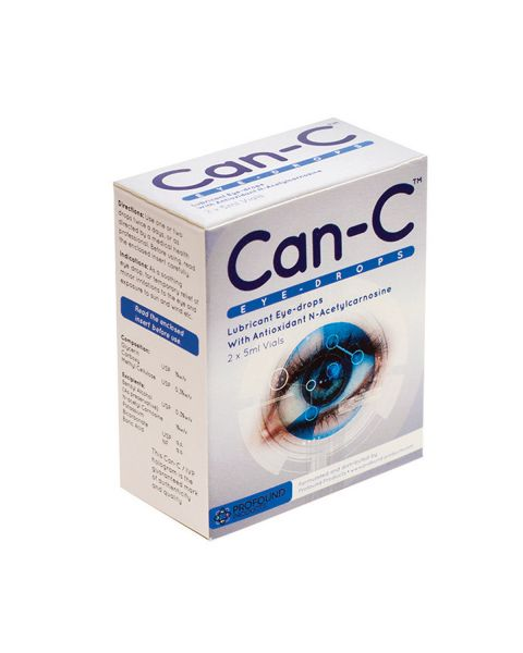 Can-C NAC Eyedrops 2 x 5ml Vials RRP £29.95