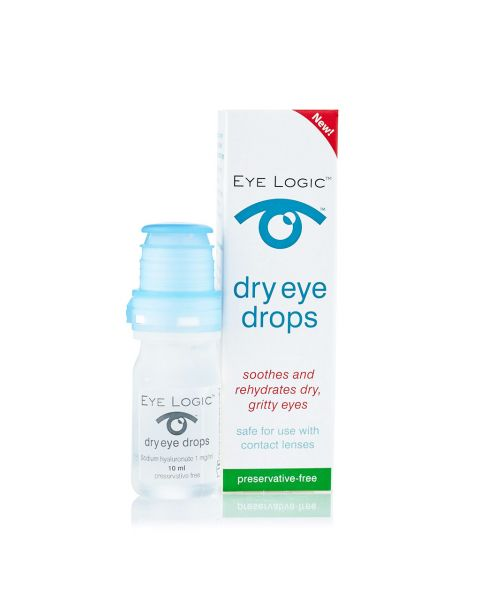 Eye Logic Eye Drops 10ml RRP £8.99