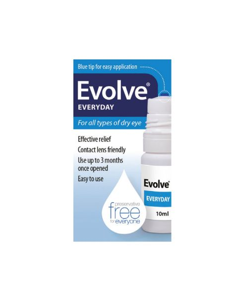 Evolve Everyday Hypromellose 0.3% 10ml RRP £7.49