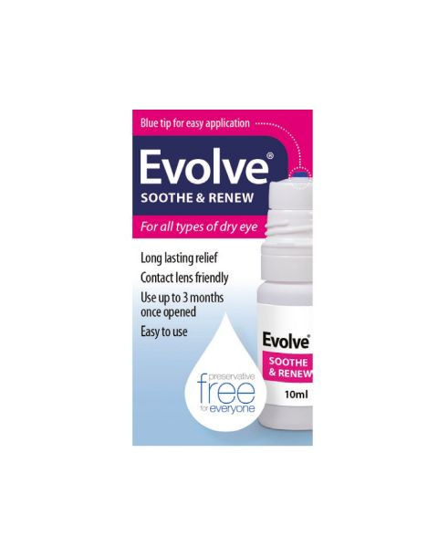 Evolve Soothe & Renew Carbomer 980 0.2% 10ml RRP £9.99
