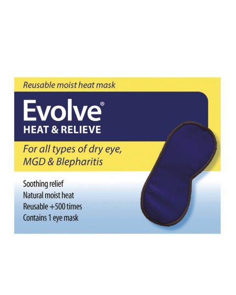 Evolve Heat & Relieve Eye Mask RRP £14.99 APRIL DELIVERY
