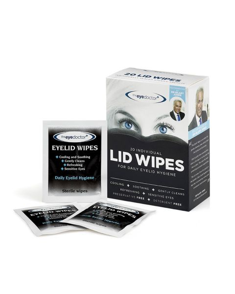 Eye Doctor Eyelid Wipes 20 Pack RRP £4.99