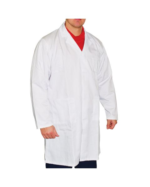 Unisex White Lab Coat X-Large (48in)