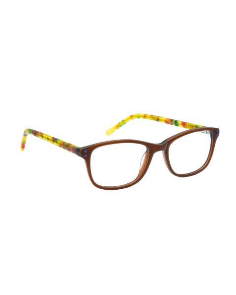 H&Co Kids Mod 009 C3 Brown Crystal Brown 46 15