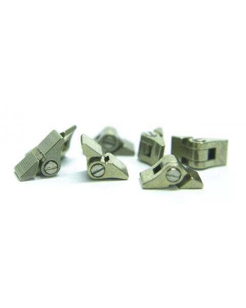 Solder Hinges H: 3.0 mm X D: 1.4 mm 5 Prs