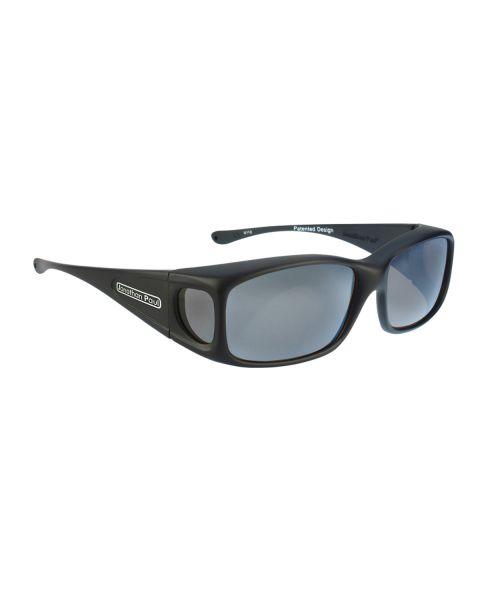 JP Fitovers Razor Matte Black/Grey Lenses Small