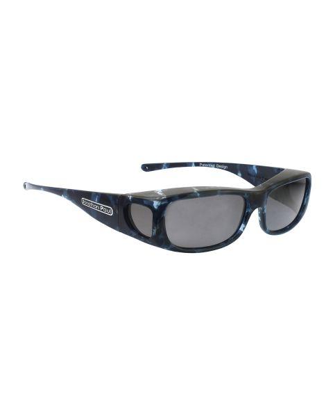 JP Fitovers Sabre Blue Cloud/Grey Lenses Medium
