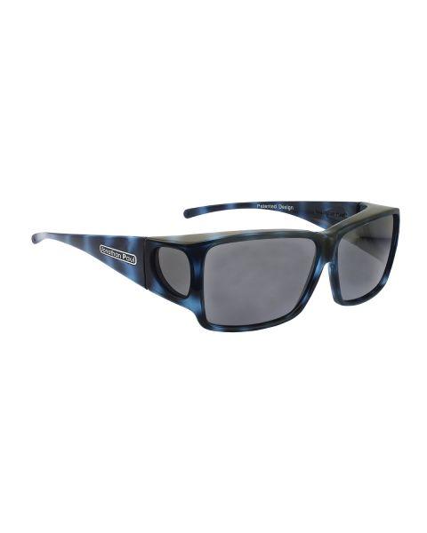 JP Fitovers Orion Blue Demi/Grey Lenses Large