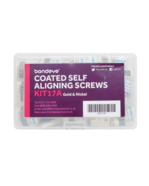 Coated Self Aligners Mixed Gold/Nickel Kit 12 pks