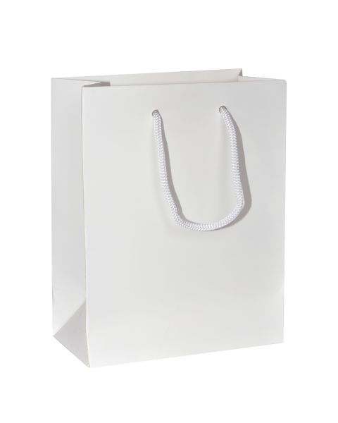Boutique Bag WHITE Matt 30pcs