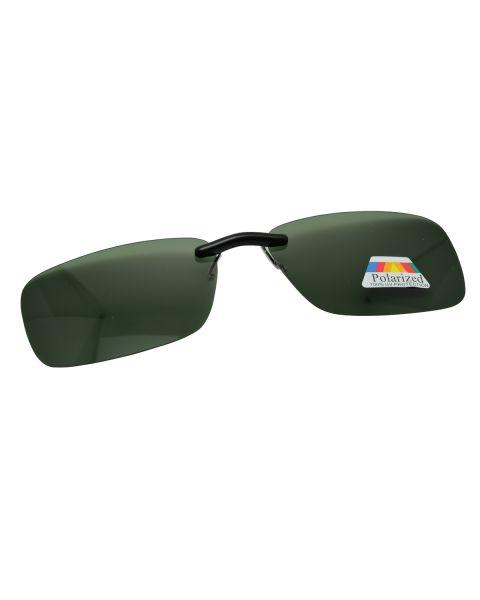 Clip On Sunglasses Polarised 57 19 G15 (5)