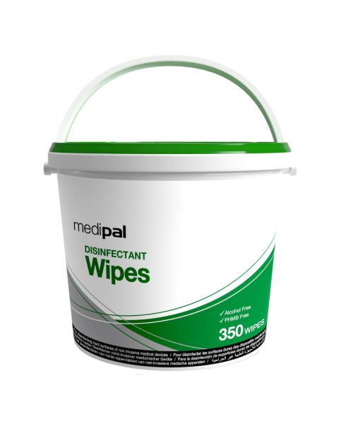 Medipal Disinfectant Wipes - Tub Of 350 (Kill Time 60 Secs)