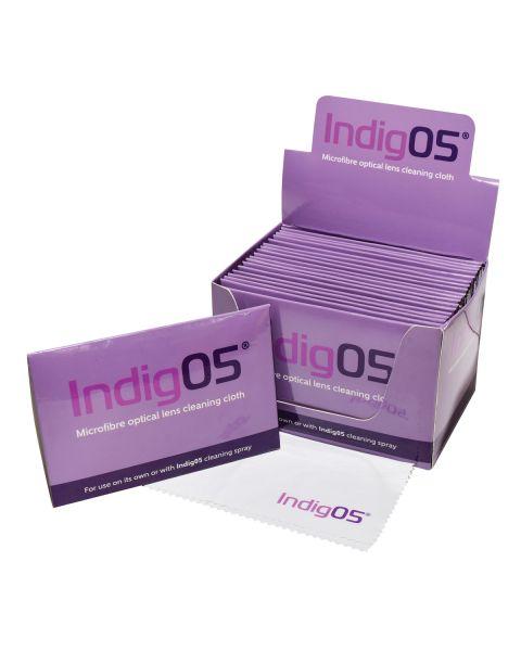 Indig05 Premium Lens Cloth x 20 (Including POS)  RRP £90