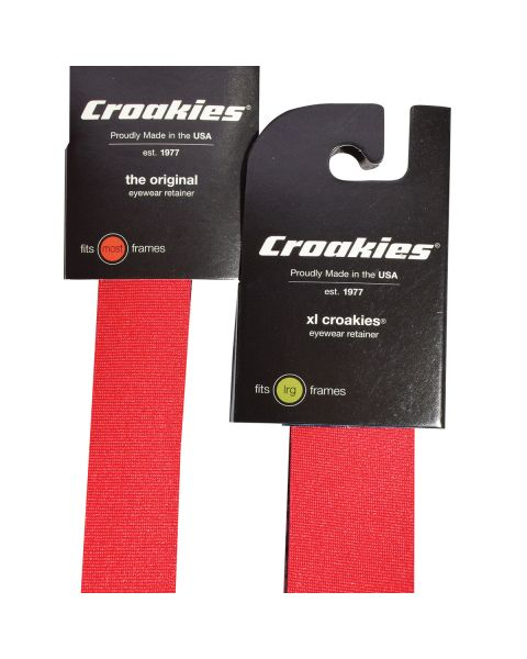 Croakies Sports Band Adult RED XL 1pc