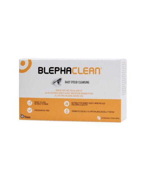 Blephaclean Eye Lid Cleansing Wipes (20 Wipes) RRP £8.99