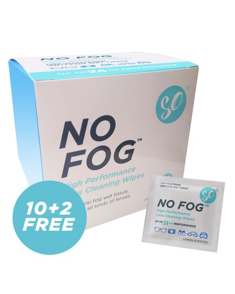 SO No Fog Wipes-Box of 100 RRP £12.99