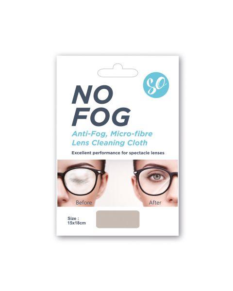 SO No Fog Cloth 15X18cm 1pc  RRP £6.99 per cloth