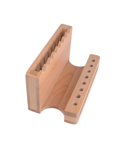Premium Wooden Tool Stand - Pro Grip V2 Pliers