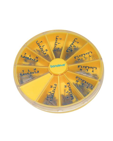 Coated Snapit Kit Nickel 10 compartment wheel