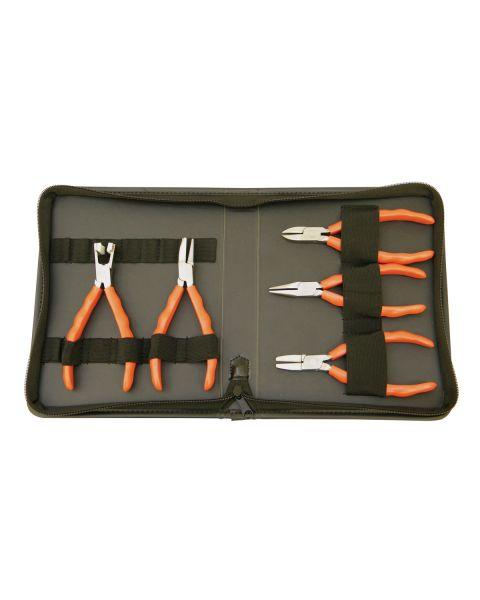 Tool Wallet including 5 Premium Range Pliers