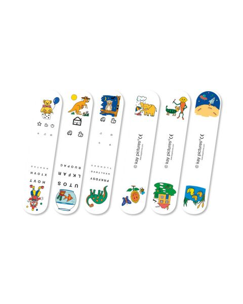 Kay Picture Infant Fixation Sticks (Pack Of 3)