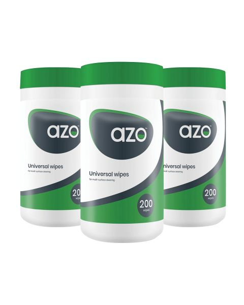 Azo Uni Wipes - 200 tub (FORMERLY AZOMAX) 10+2 FREE BUNDLE