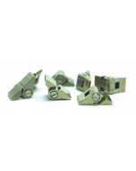 Solder Hinges H: 2.1 mm X D: 1.4 mm 5 Prs