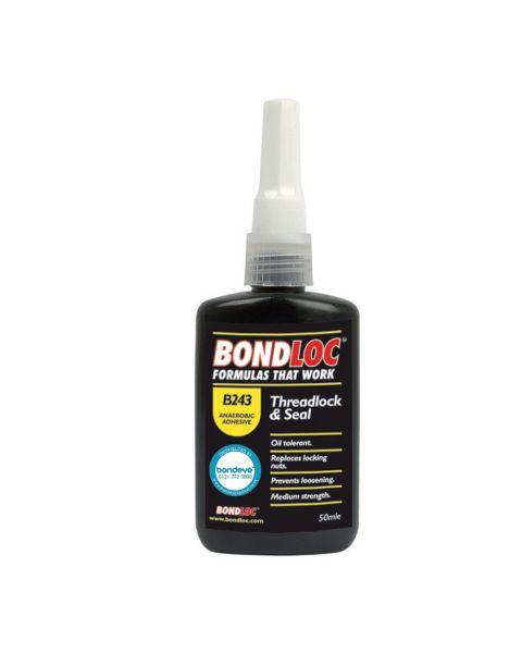 Bondloc B243 Blue Medium Strength