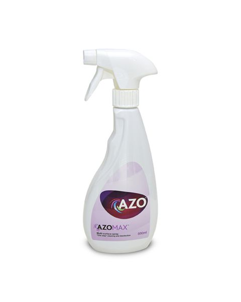 Azo Max Cleaning & Disinfectant Spray 500ml (Hard Surface)