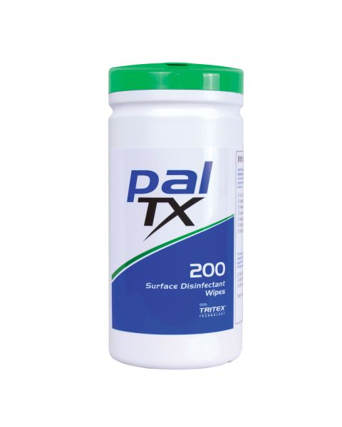 Pal Tx Clinical Wipes (Tub of 200) Alcohol Free