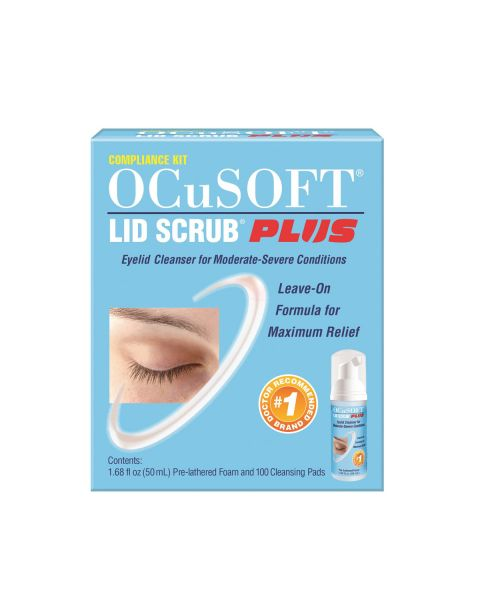 Ocusoft Plus Compliance Kit RRP £14.95