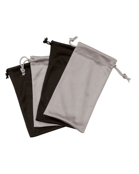 Microfibre Bag BLACK/SILVER 120pcs
