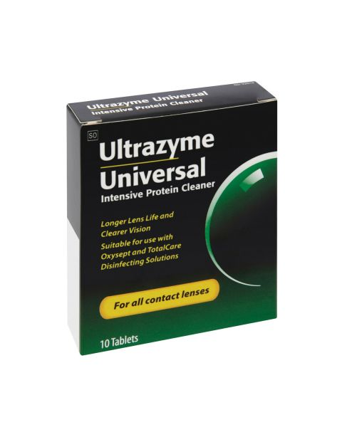 Ultrazyme Universal Protein Cleaner (10 Tabs) RRP £10.07