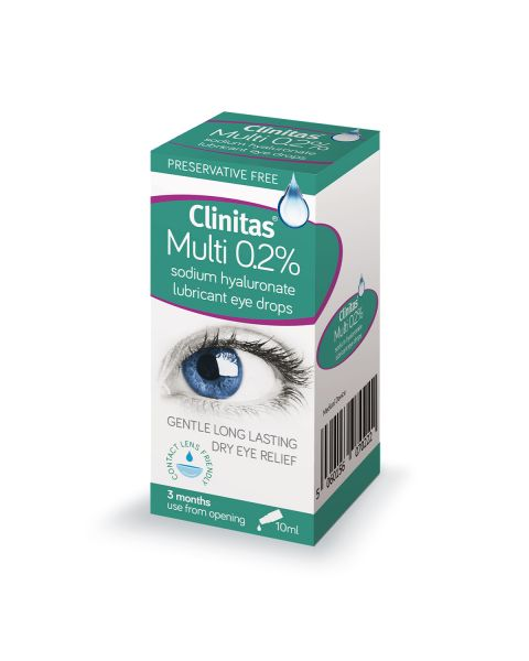 Clinitas Multi 0.2% 10ml RRP £8.95