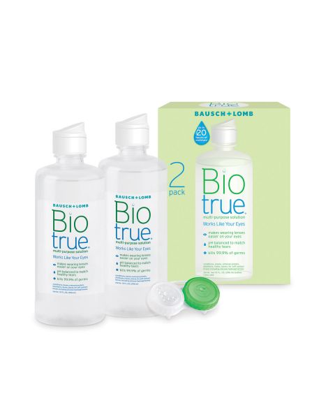 Biotrue Multi Purpose Solution (2 x 300ml) RRP £23.00