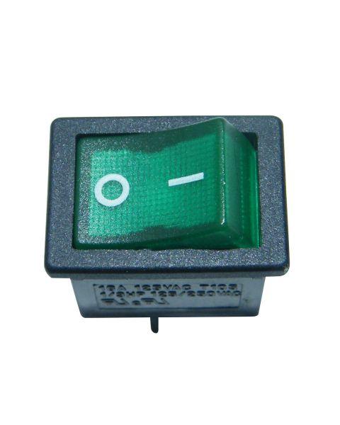 GFC Frame Heater Zita Plus Power Switch (Green)