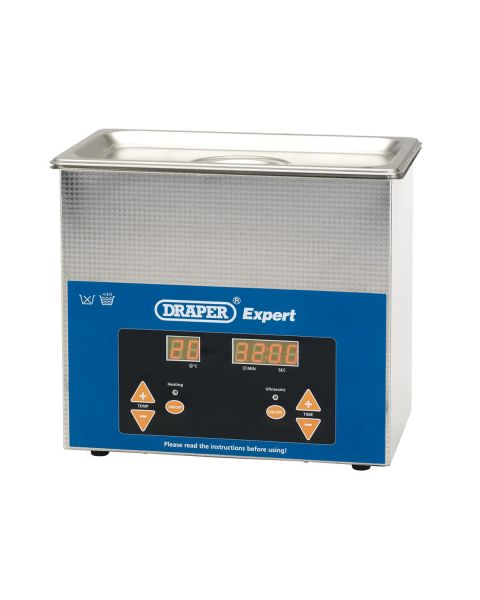 Draper Ultrasonic Cleaner 3Ltr