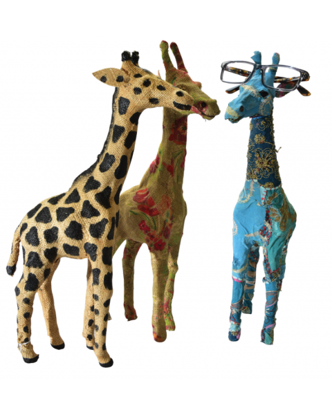 Optipets Giraffe Window Displays