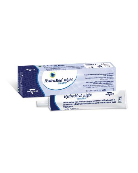 Hydramed Night Sensitive Eye Ointment 5g RRP £5.99