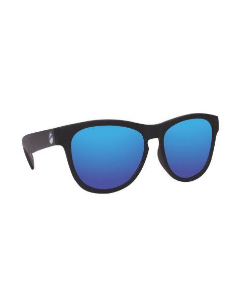 Minishades Ages 8-12 Galaxy Black/Blue Mirror
