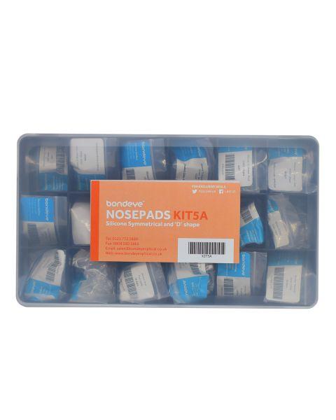 Standard Silicone 'D' & Symm Mixed Nospad Kit 16 pks