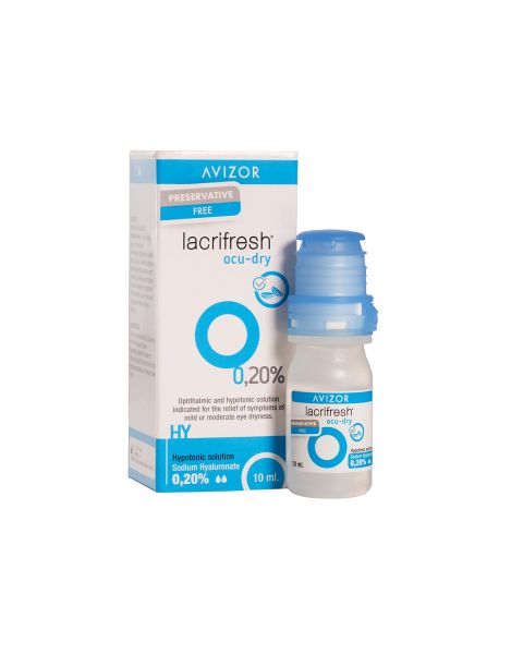 Avizor Lacrifresh Ocu-Dry 0.2% 10ml Multidose RRP £9.75