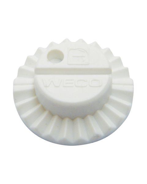 Weco Vario Block 25mm - Flat Curve White Large 10 Pcs